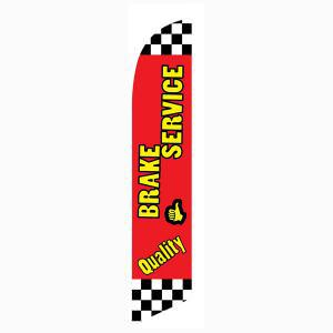 Quality Brake Service Feather Flag for vehicle repair professionals!