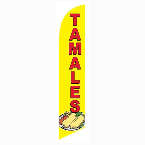 Tamales Feather Flag is a must have for all Mexican restaurants