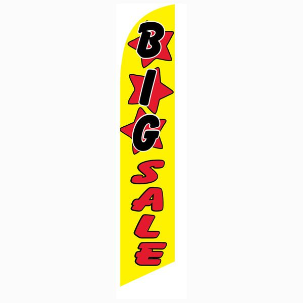Big Sale feather flag for all clearance and blowout sales for your business.