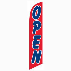 Red open flag is great for businesses looking to create a presence.
