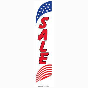 American sale feather flag for longterm outdoor advertising.