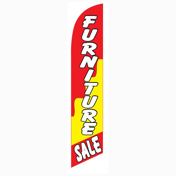 Our most popular Furniture sale banner flag at a very low price today