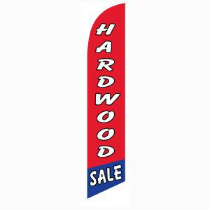 Our Hardwood sale feather flag can help you increase your sales instantly