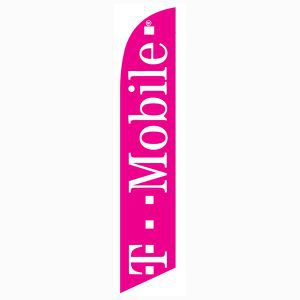 T-mobile Feather Banner Flag for your outdoor promotional needs.