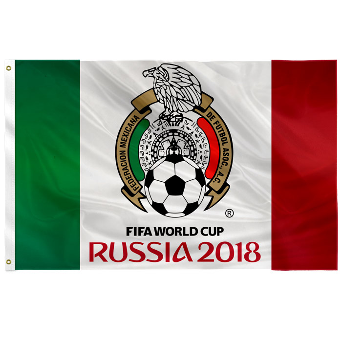 Flag Mexico 2018 Fifa World Cup Russia Custom Feather Banner Flags