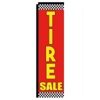 Tire Sale Rectangle Flag