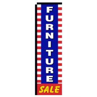 Furniture Sale Rectangle Flag