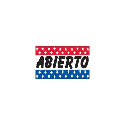 ABIERTO 3x5 Flag