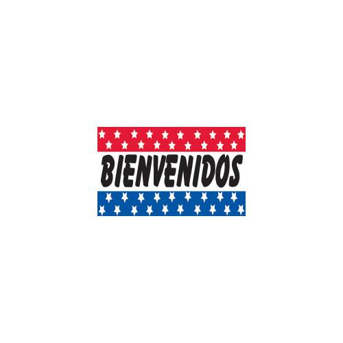 Bienvenidos 3x5 Flag