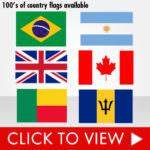 3x5 Country Flags