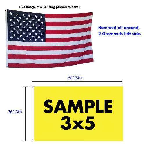 3x5 Flag Specifications
