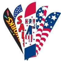 American Feather Flags Sale – 4th Of July