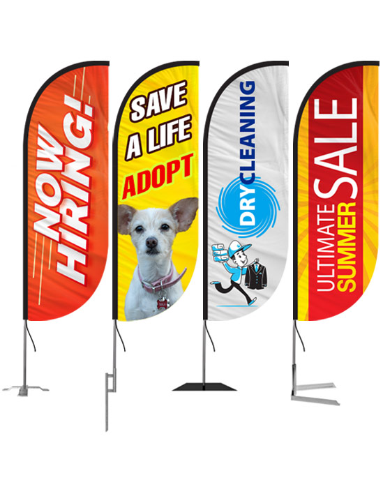 bubu dog-5ft-feather-flags-custom-for-outdoors
