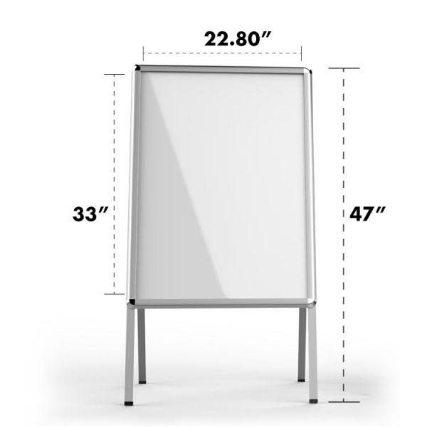 A-Frame-Sidewalk-Sign-Holder