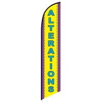 Alterations Feather Flag