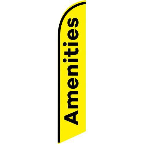 Amenities feather flag FFN-5775