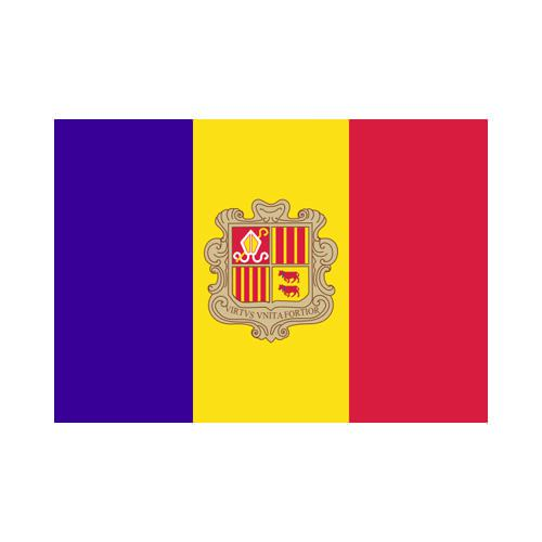 [OUT OF STOCK] Andorra 3x5 Flag
