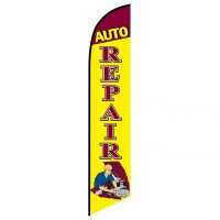 Auto Repair Mechanic Banner Flag