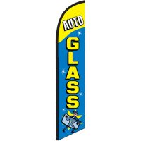 Auto Glass Feather Flag Banner NSFB-5811