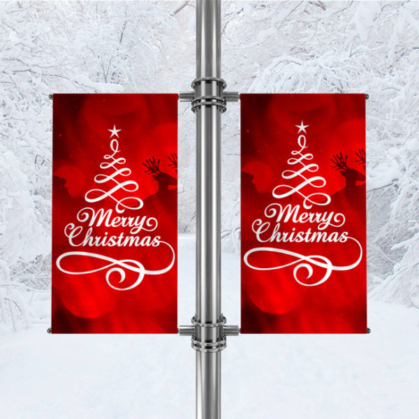 Avenue Banner For Christmas