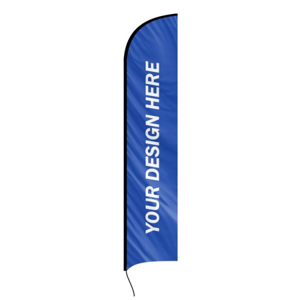 Blade replacement banner flag swooper custom