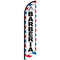 Barberia feather flag