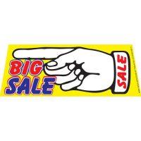 Big Sale windshield banner