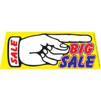 Big Sale Right windshield banner