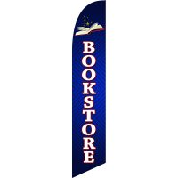 Bookstore Feather Flag Kit with Ground Stake