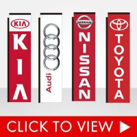 Auto Dealership Banner Flags