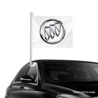 Buick Window Clip-On Flag