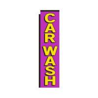 Car Wash Rectangle Flag