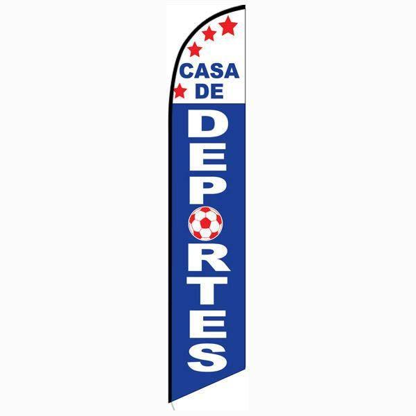 Casa De Deportes Feather Flag FFN-5092