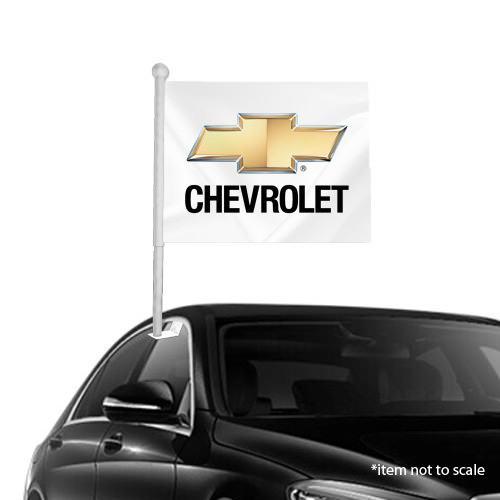 Chevrolet  window clip on flag NSW 57