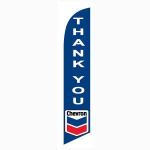 Chevron Thank You feather flag for your outdoor banner décor