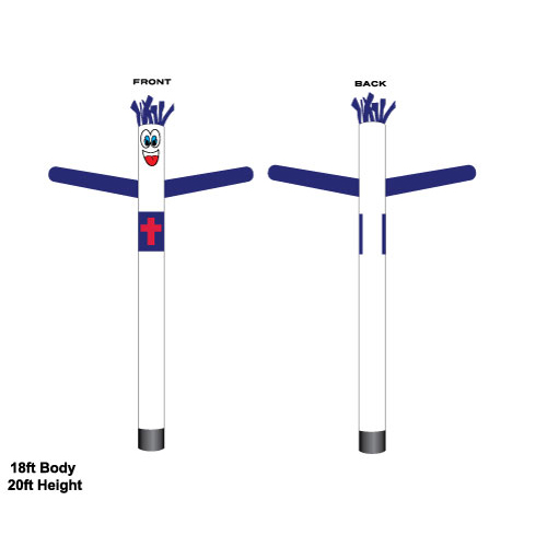 Christian Flag Air Dancer