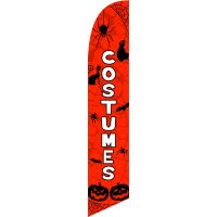 Costumes Feather Flag Kit with Ground Stake