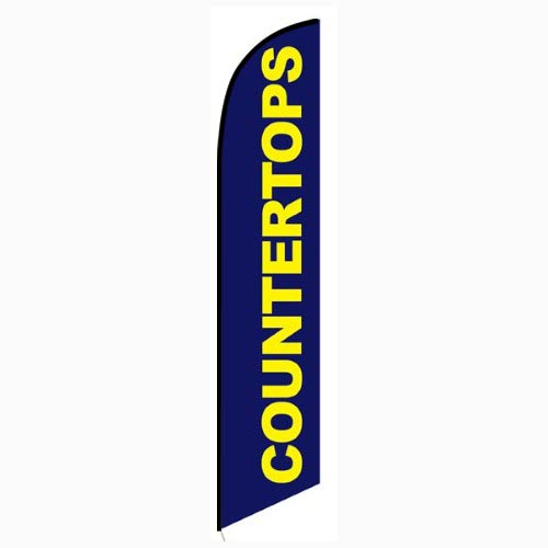 Countertops feather flag