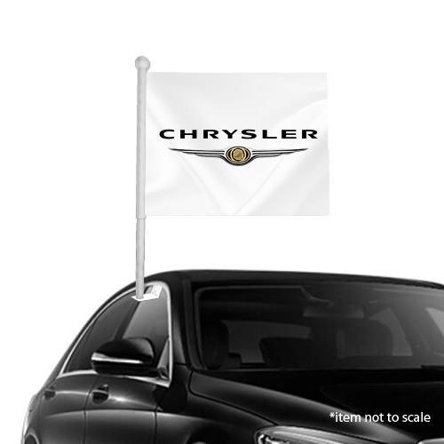 Crysler  window clip on flag NSW 34