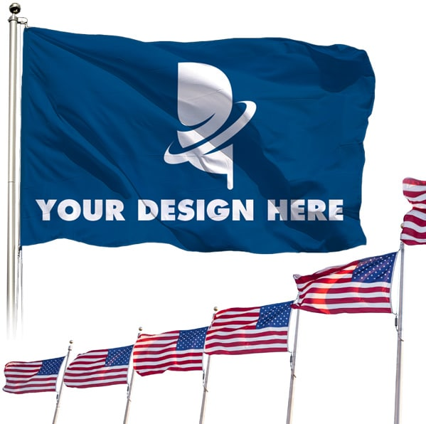 Custom Flags Cheap for Homes & Businesses, Free Shipping