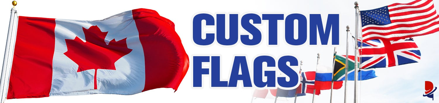 Custom Flags 3x5 Commercial & Residential for Sale | FREE