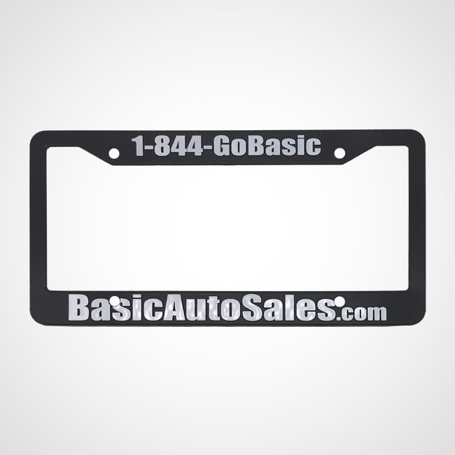 Custom License Plate Holder