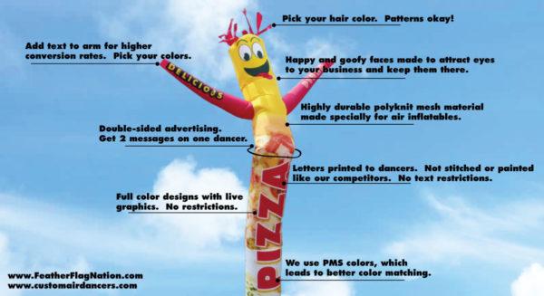 Air Dancer Custom - Create your own customized Inflatable Tube Man