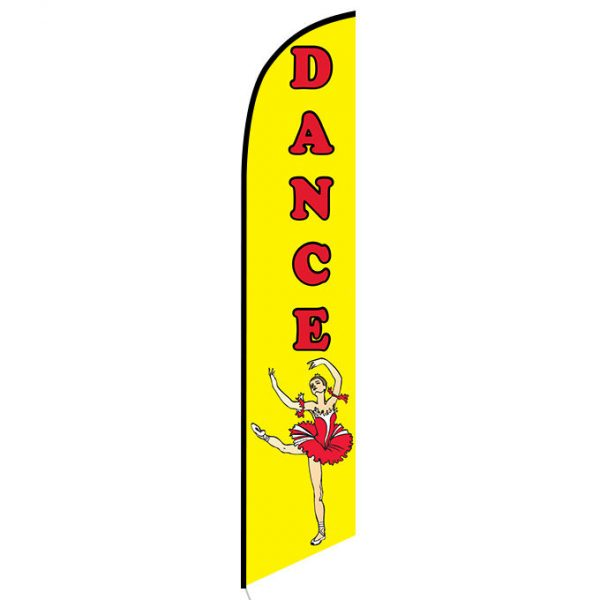 Dance feather flag