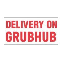 Delivery on Grubhub Vinyl Banner