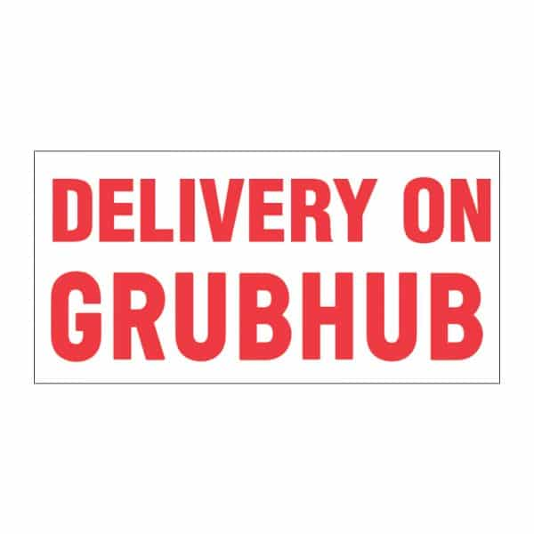 Delivery on Grubhub Vinyl