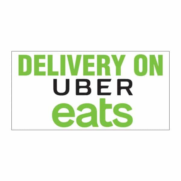 Delivery on Uber Eats Vinyl