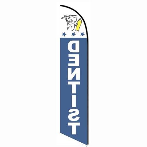 Dentist feather flag
