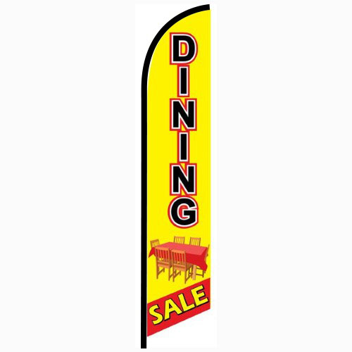 Dining Sale feather flag