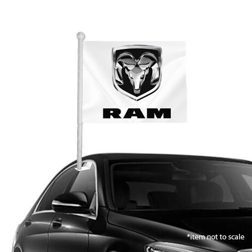Dodge ram  window clip on flag NSW 35